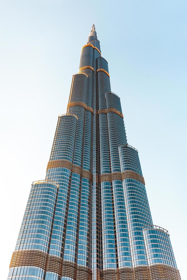 Burj Khalifa, Dubaï pendant la journée photo