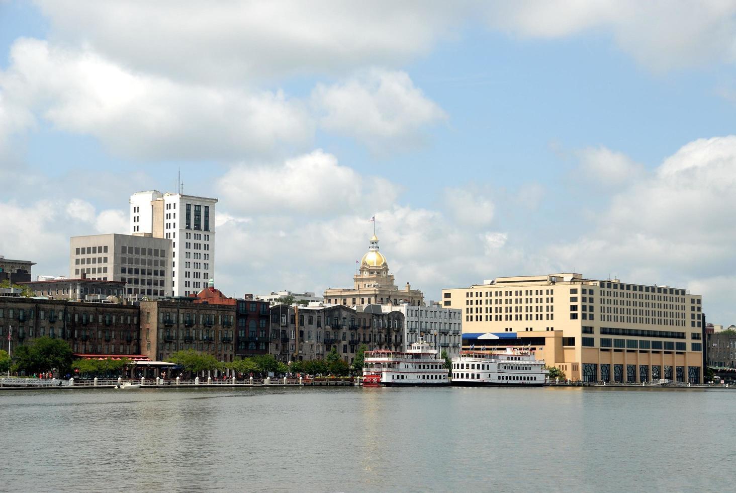 Riverfront à Savannah, Géorgie photo