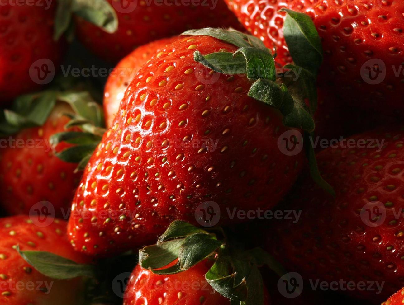 fraises fraîches photo