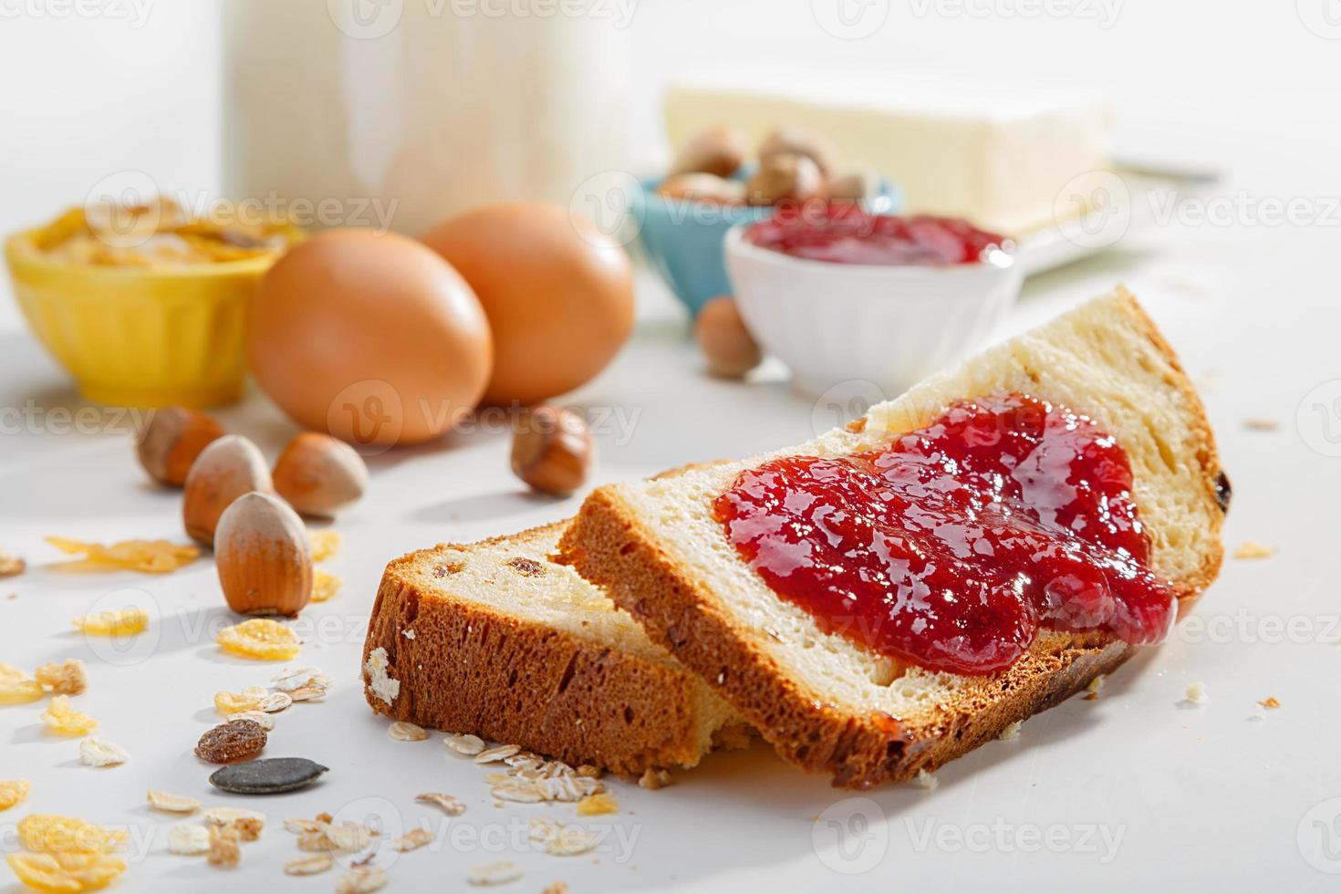 petit-déjeuner sain photo