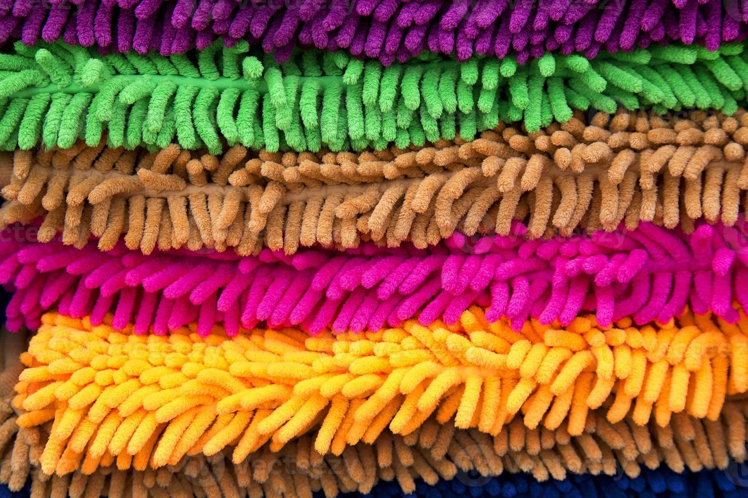 tapis de tapis coloré photo