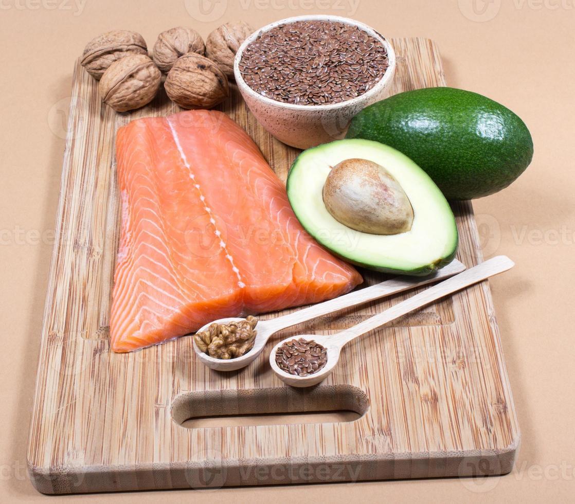 sources d'acides gras oméga 3 photo