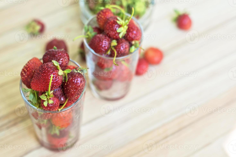 fraise mûre fraîche photo