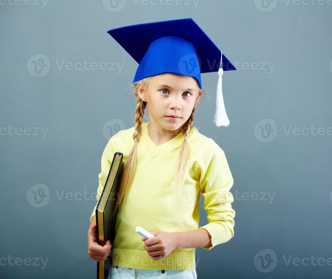 écolier intelligent photo