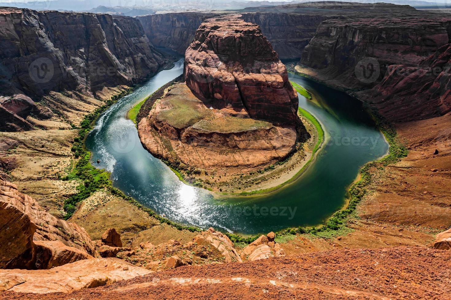 Vue panoramique du fer à cheval photo