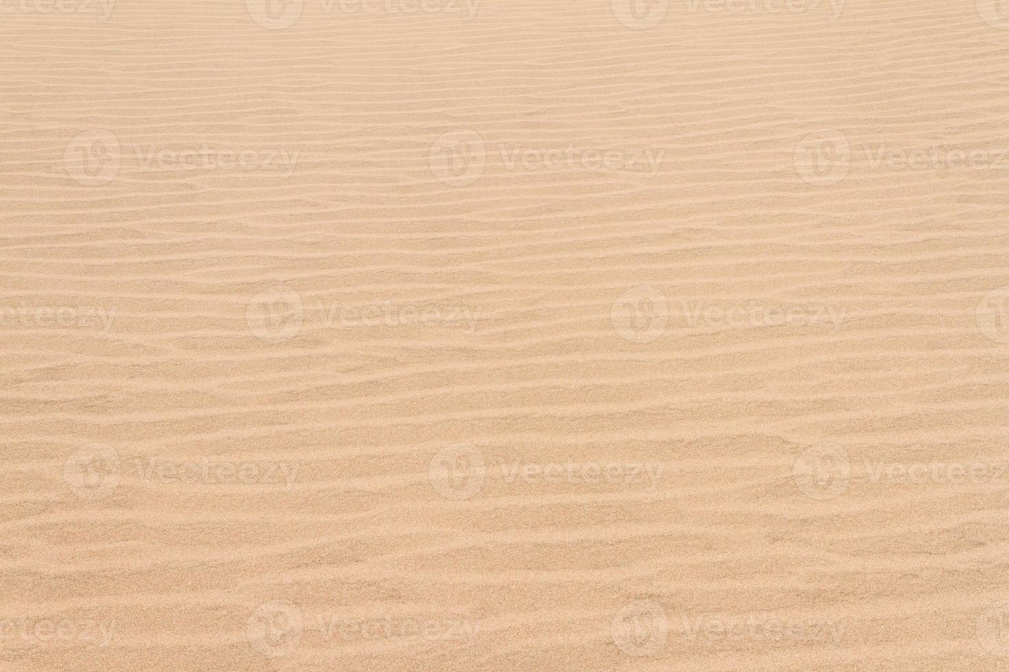 lignes abstraites de dunes de sable photo