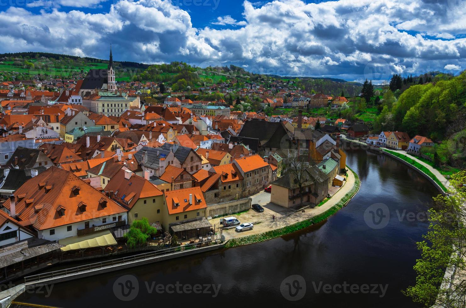 cesky krumlov, république tchèque photo