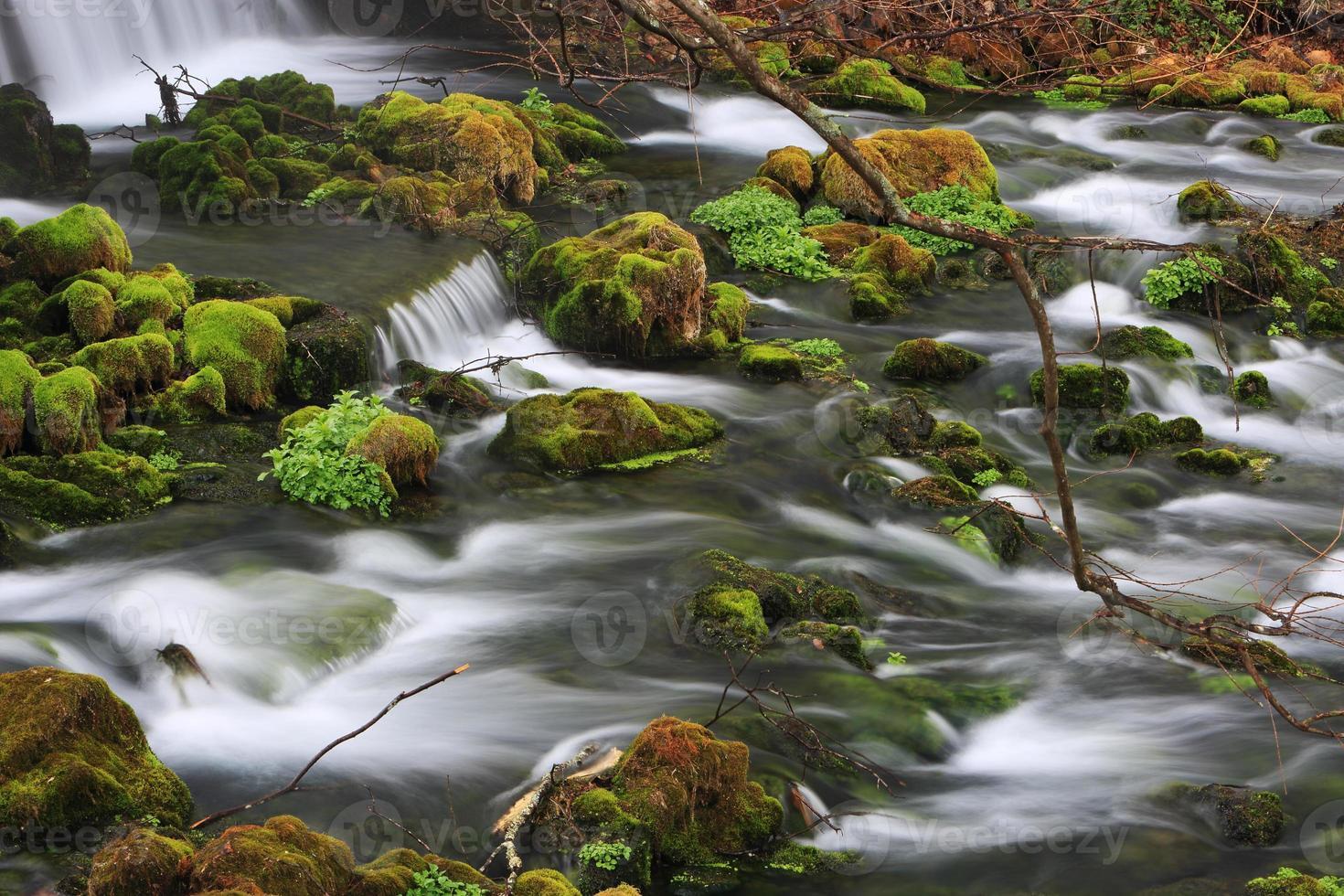 cascade au parc printanier de maramec photo