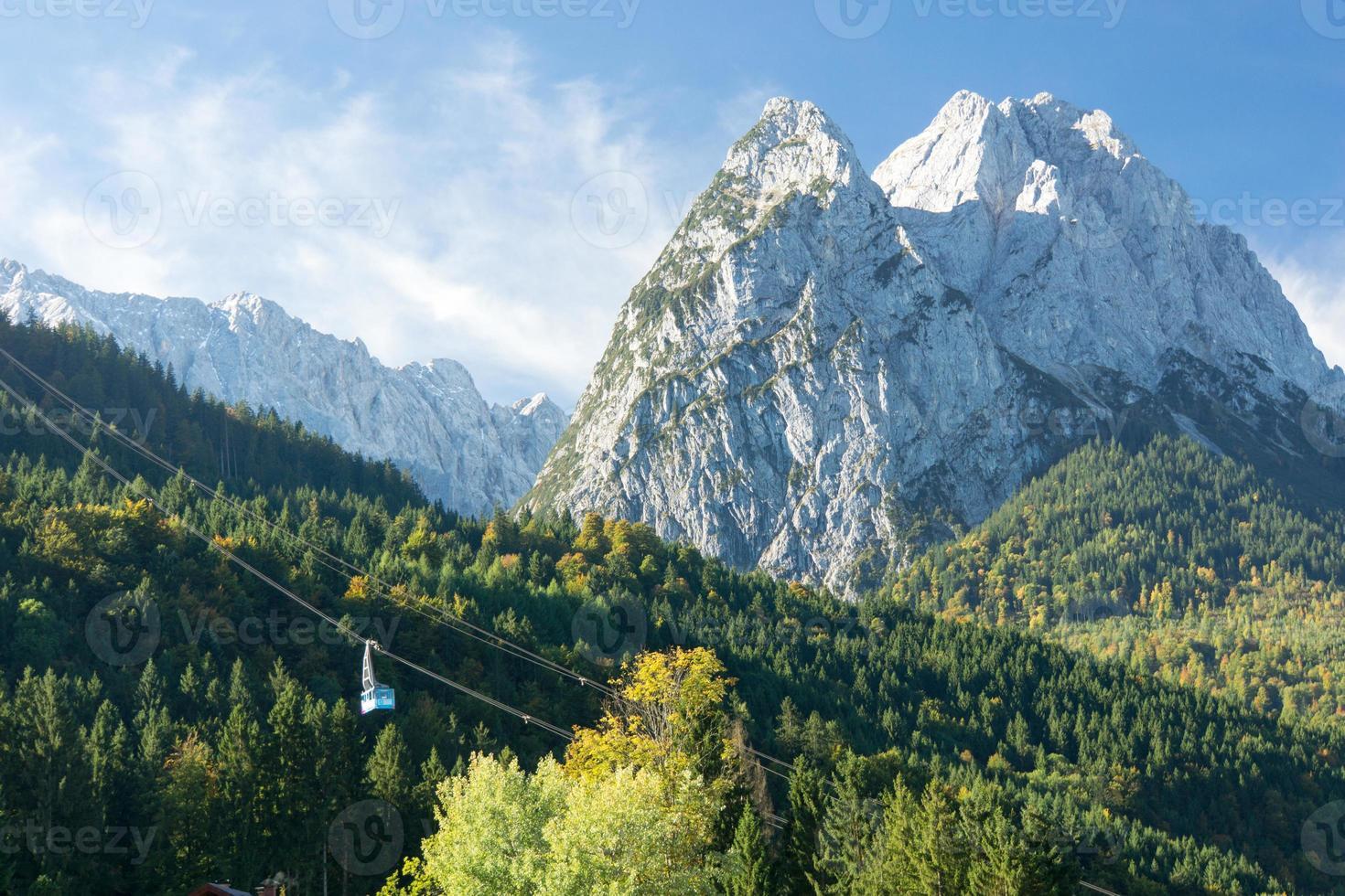 montagne de waxenstein photo