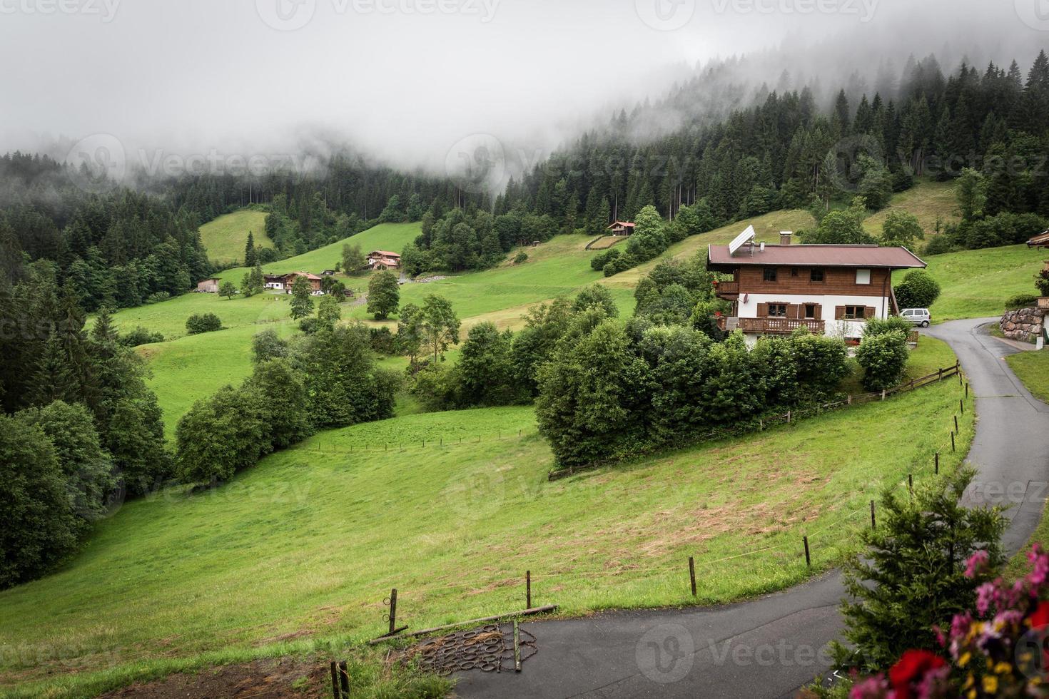 Kitzbühel dans le Tyrol photo