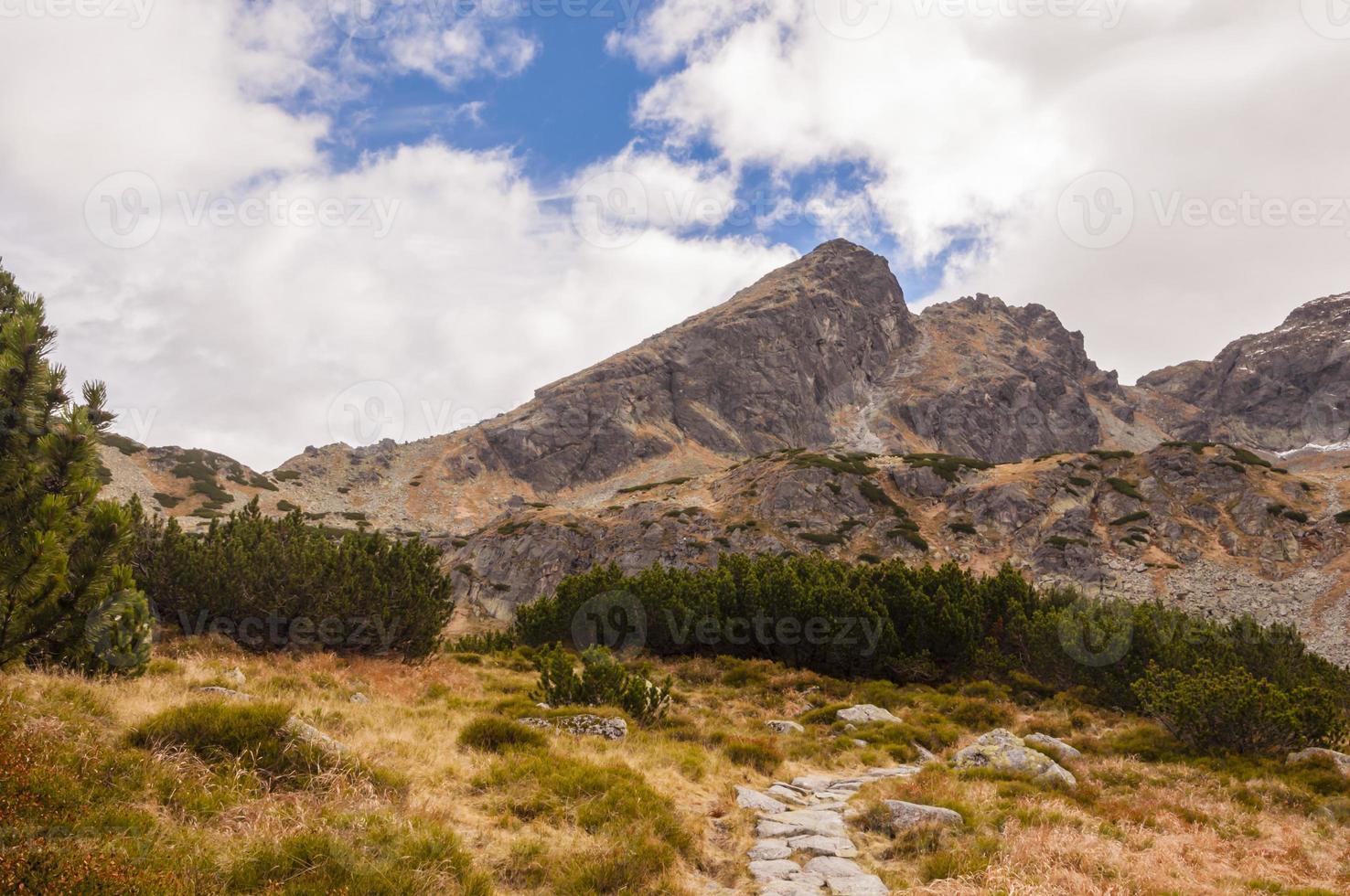 vue de Koscielec depuis l'ouest photo