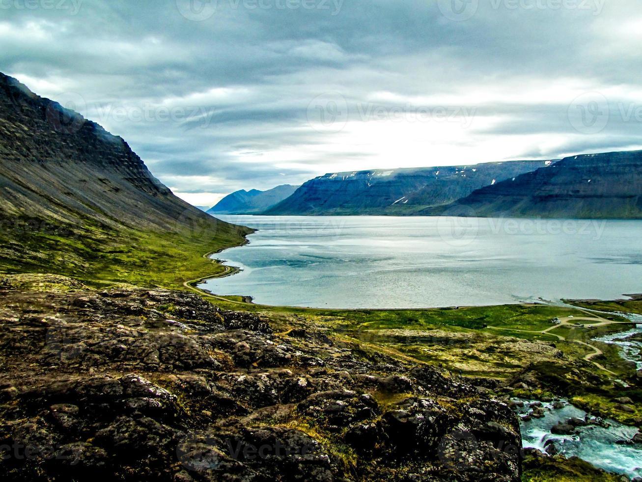 vue sur le fjord photo