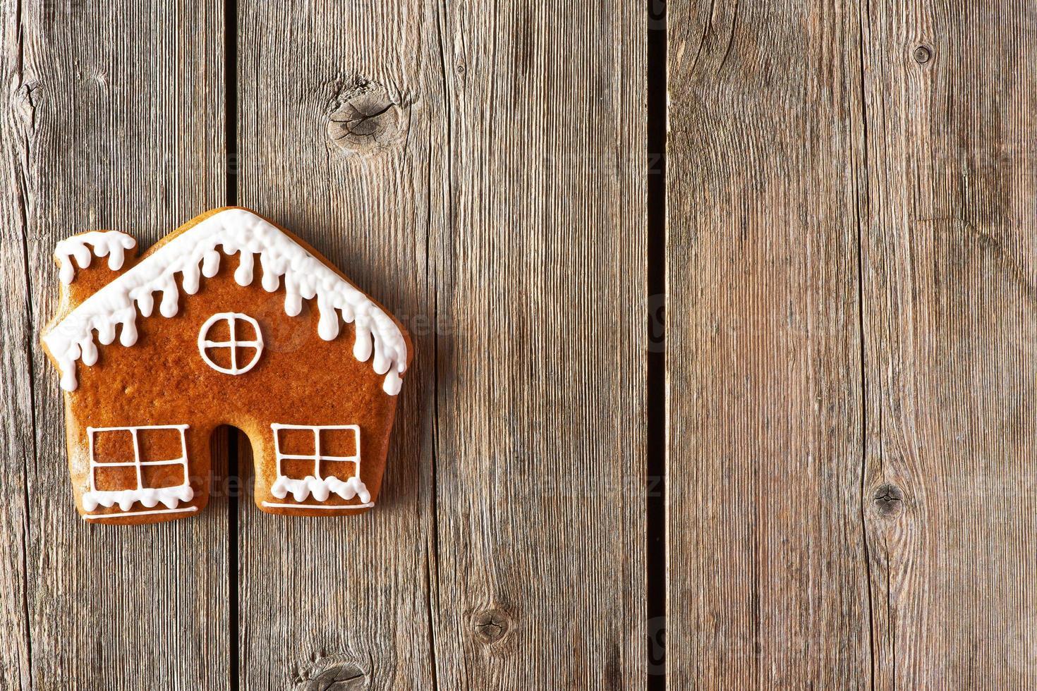 biscuit maison de Noël en pain d'épice photo