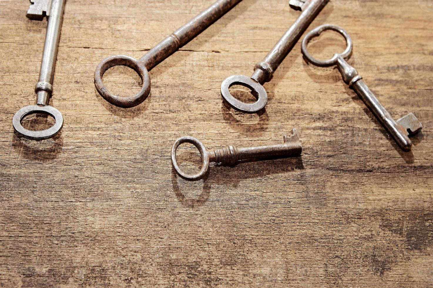 clés anciennes photo