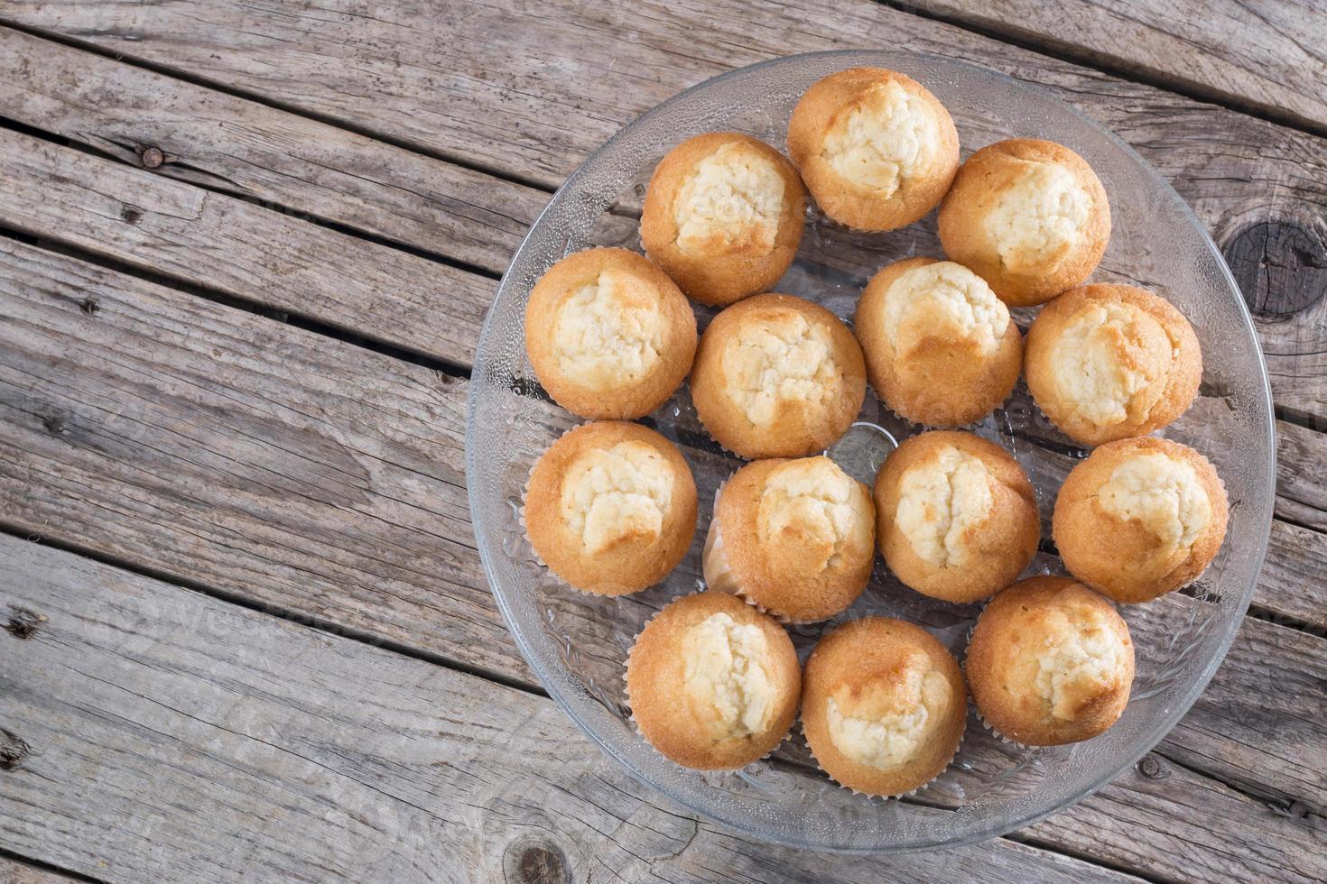 groupe de petits gâteaux photo