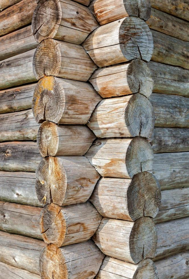 coin de la vieille maison en bois photo