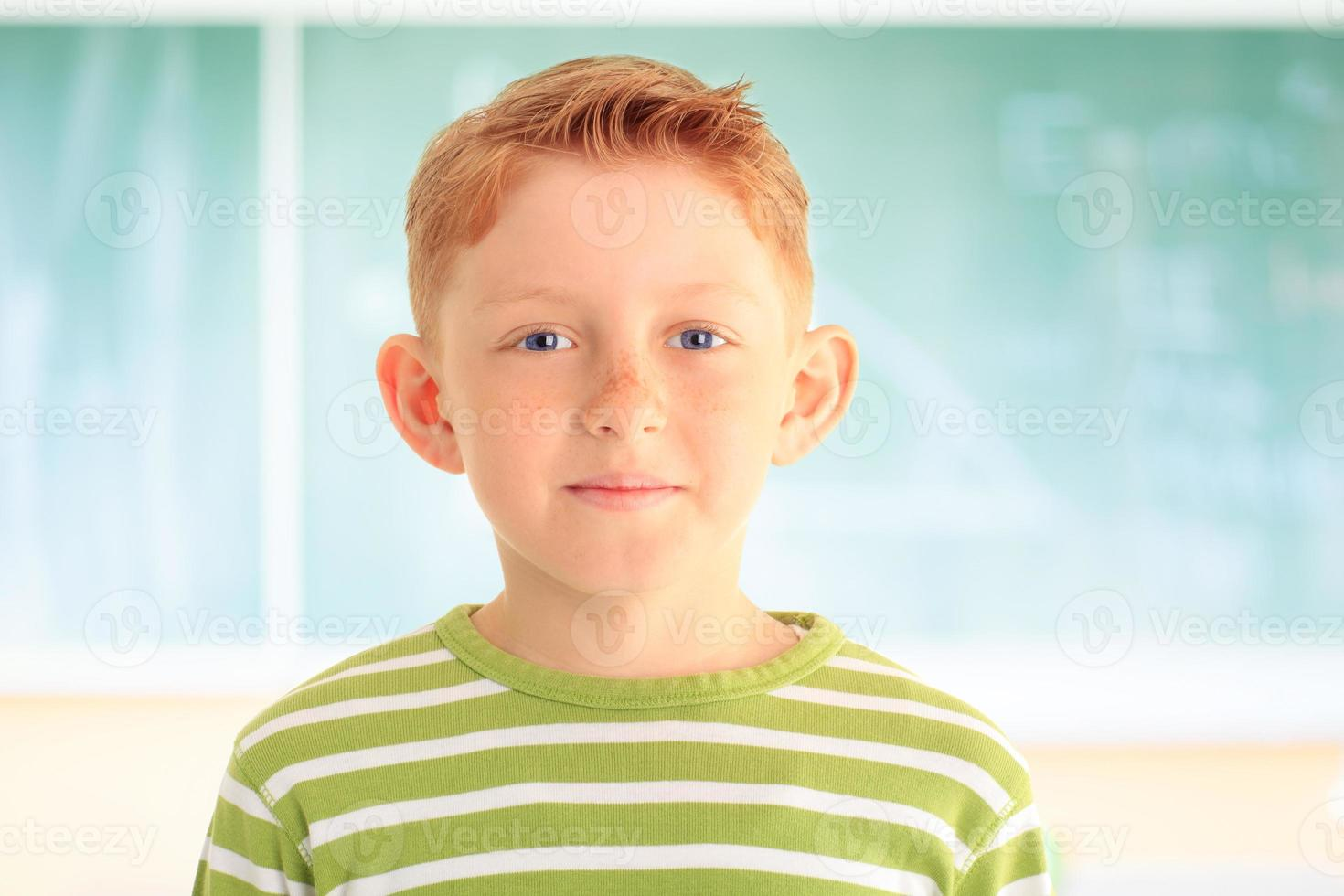 portrait d'adorable jeune étudiant photo