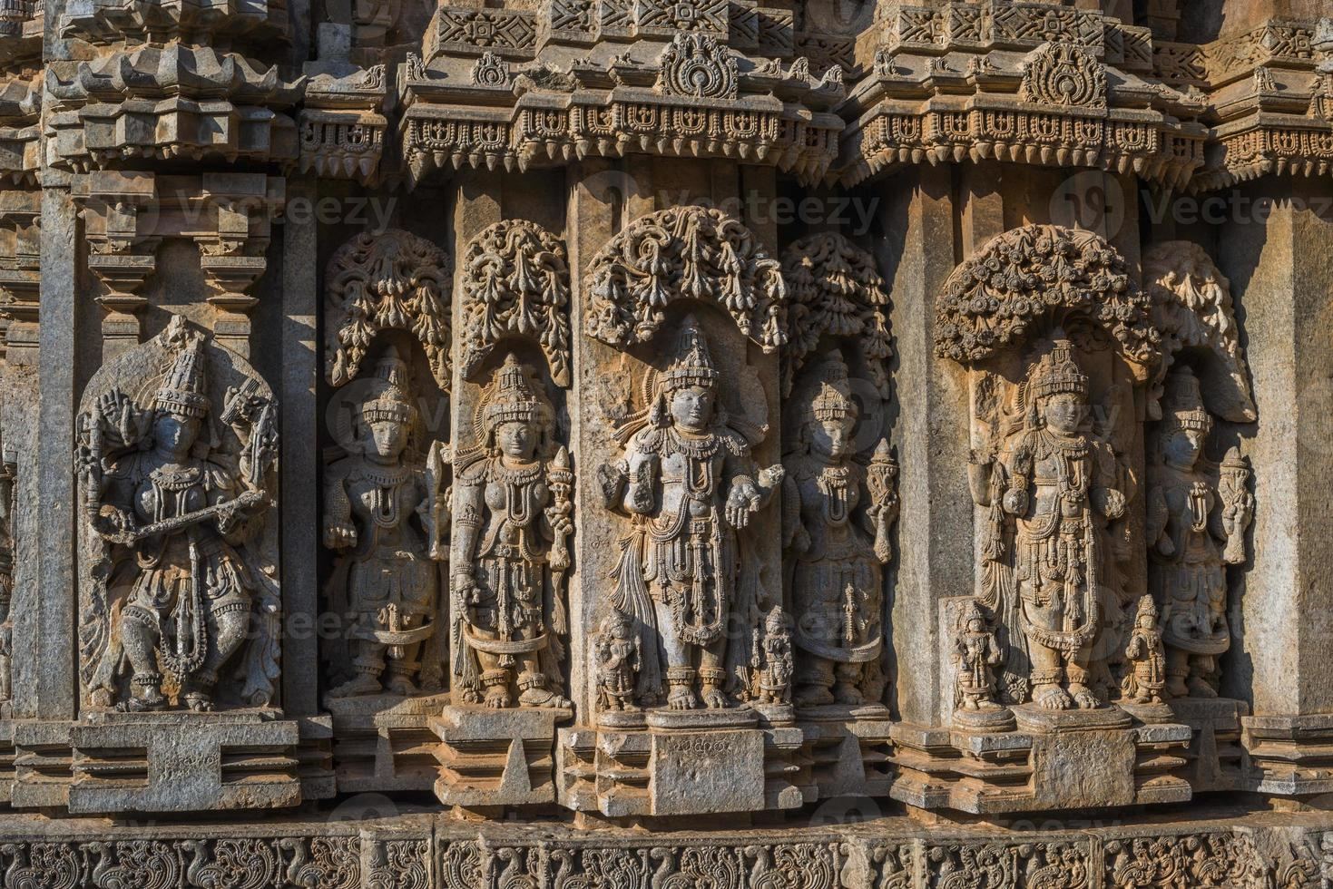 Temple de Chennakeshava, Somanthapura, Karnataka, Inde photo