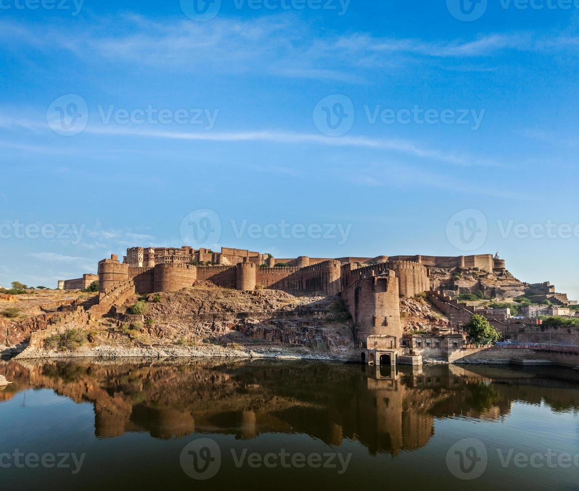 Fort de Mehrangarh, Jodhpur, Rajasthan, Inde photo