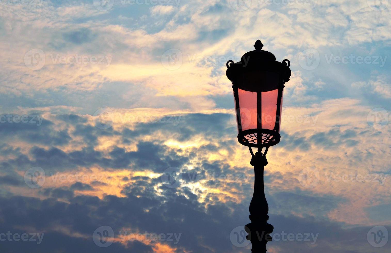 lampadaire vénitien photo