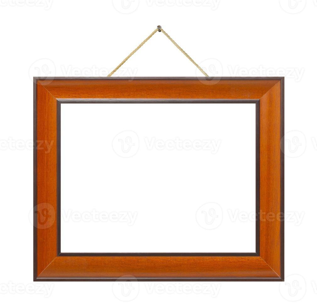 cadre rétro sur corde photo