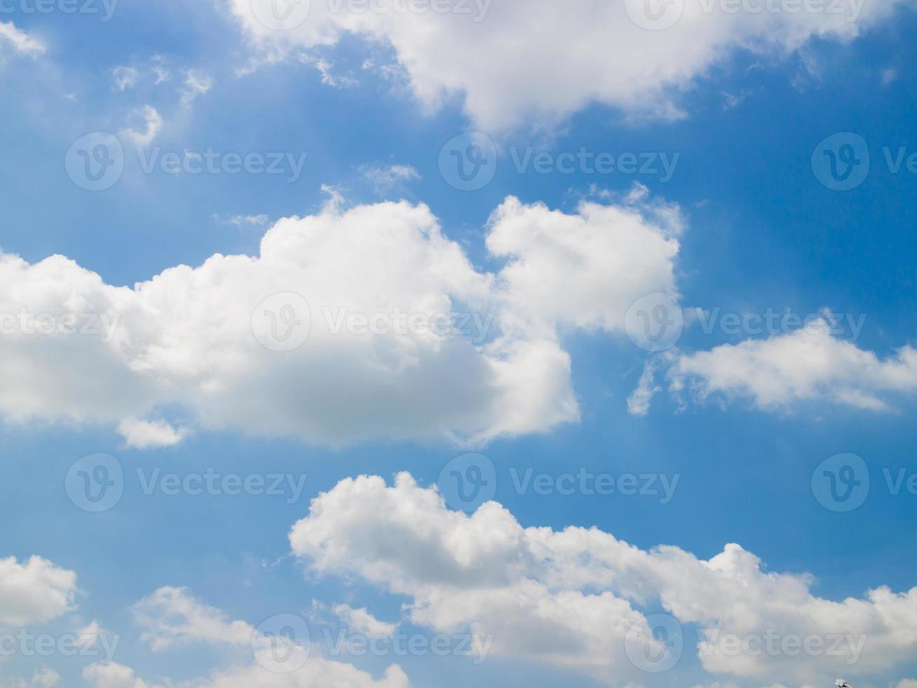 ciel bleu abstrait photo