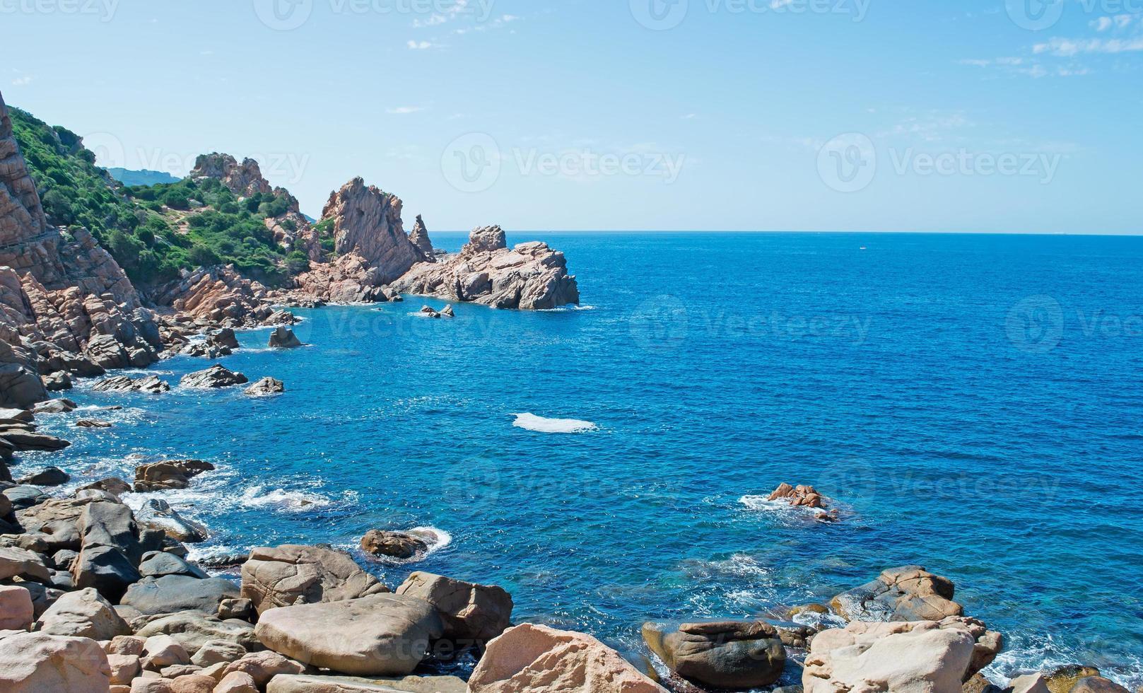 ciel bleu à costa paradiso photo