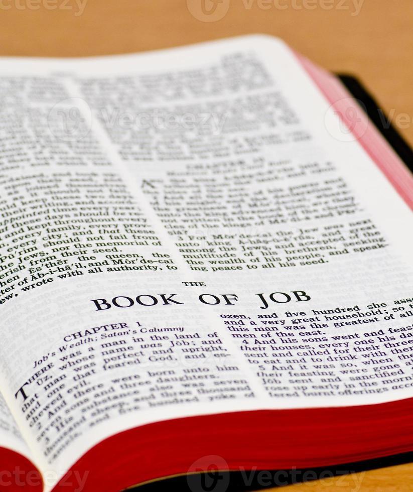 page de la Bible - emploi photo