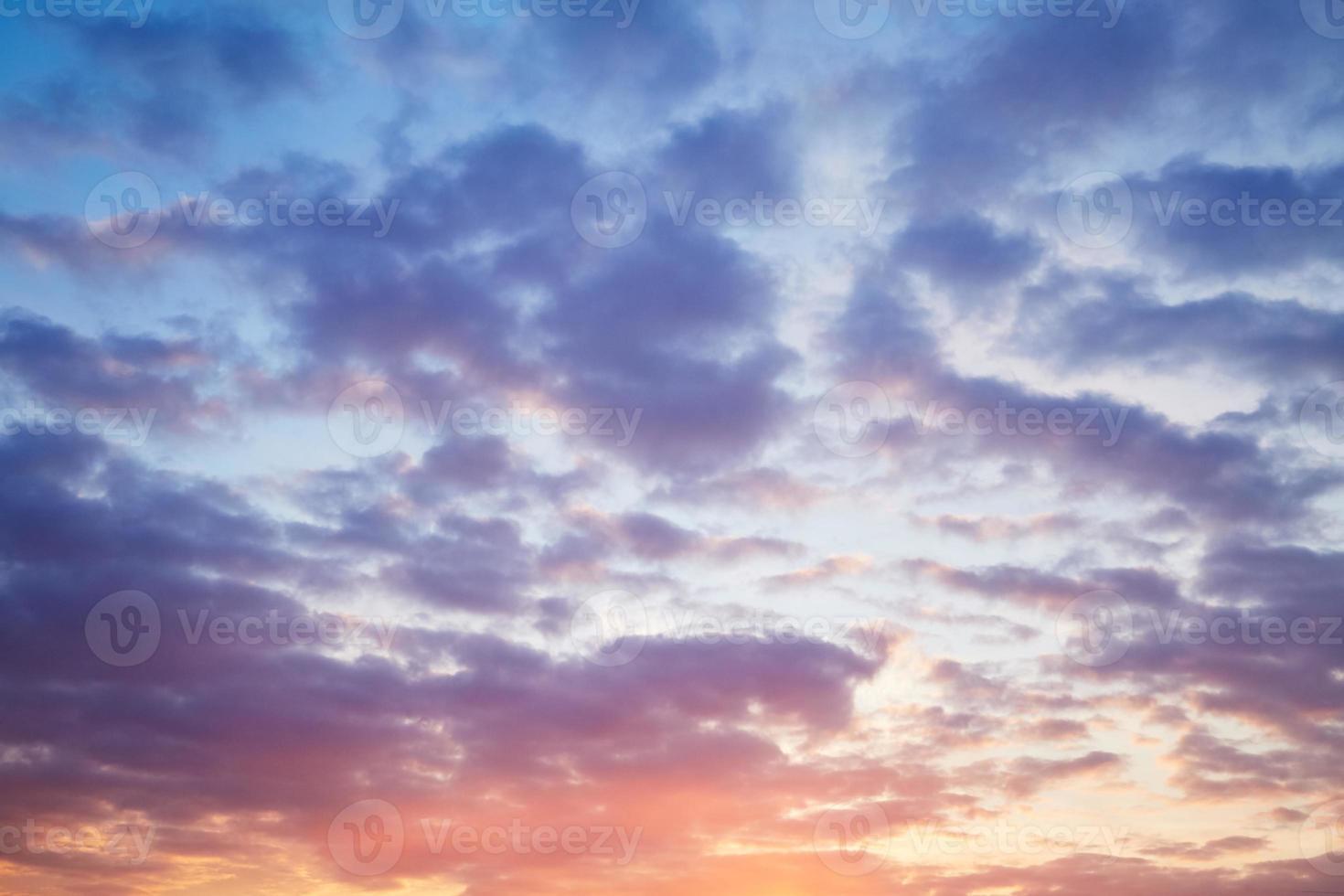 ciel du soir photo