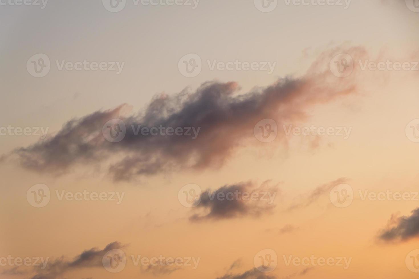 fond de ciel crépuscule coloré photo