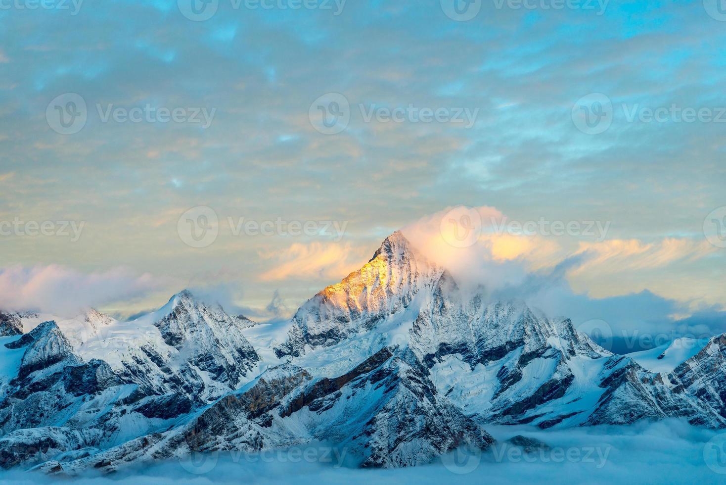 alpes dorées, zermatt photo