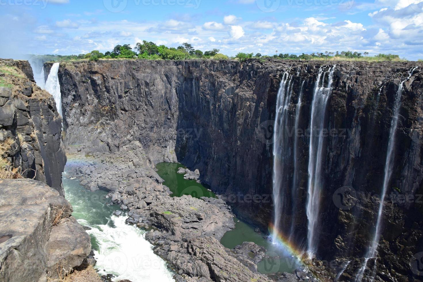 Rainbow Falls, Victoria Falls, Zimbabwe photo