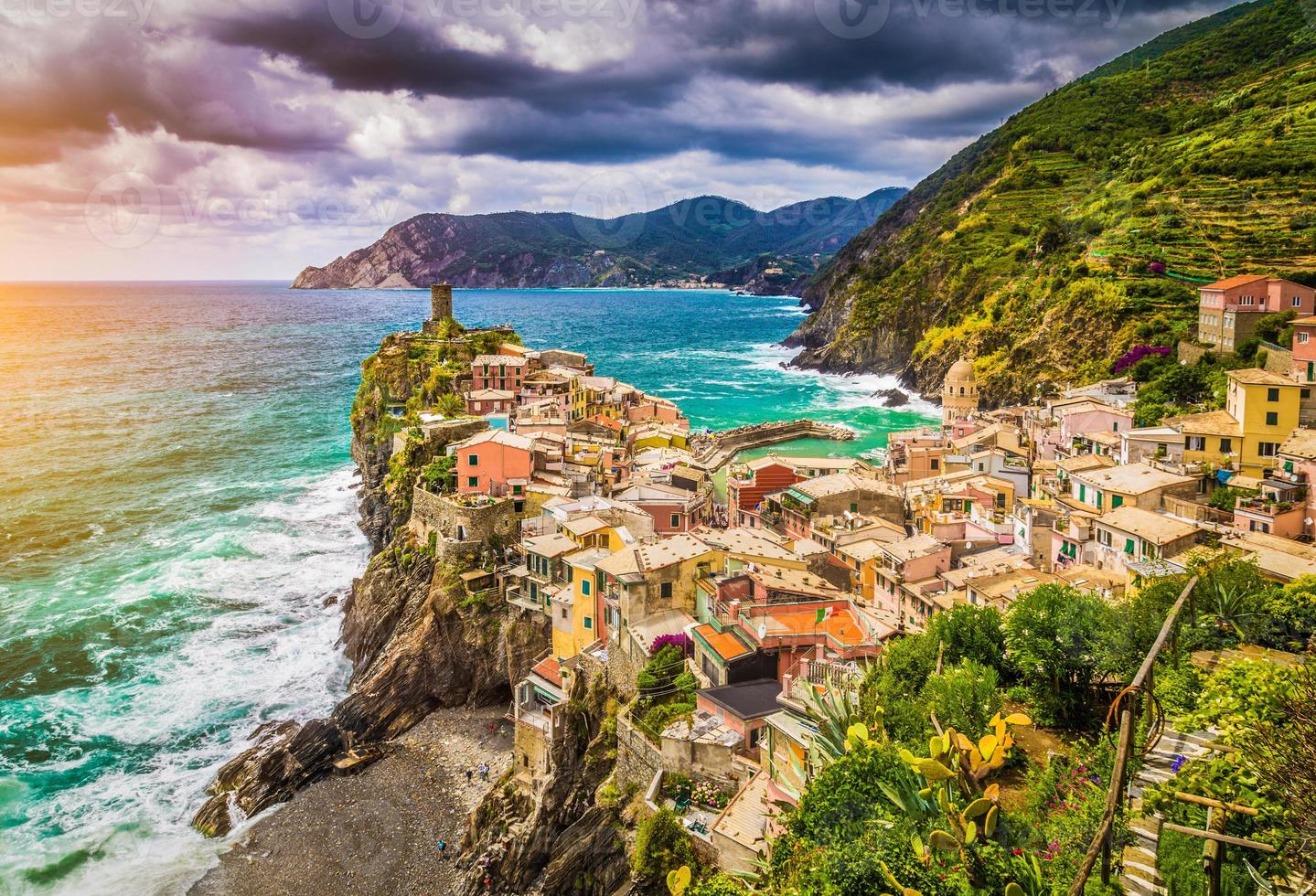 Vernazza, Cinque Terre, Ligurie, Italie photo