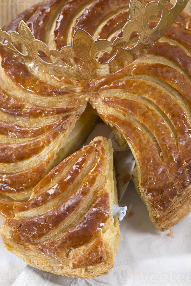 épiphanie galette des rois, gâteau roi photo