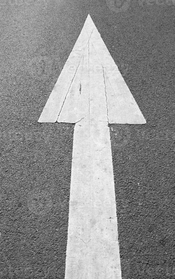 flèche de rue photo