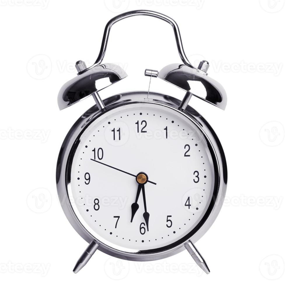 six heures et demie sur un réveil photo