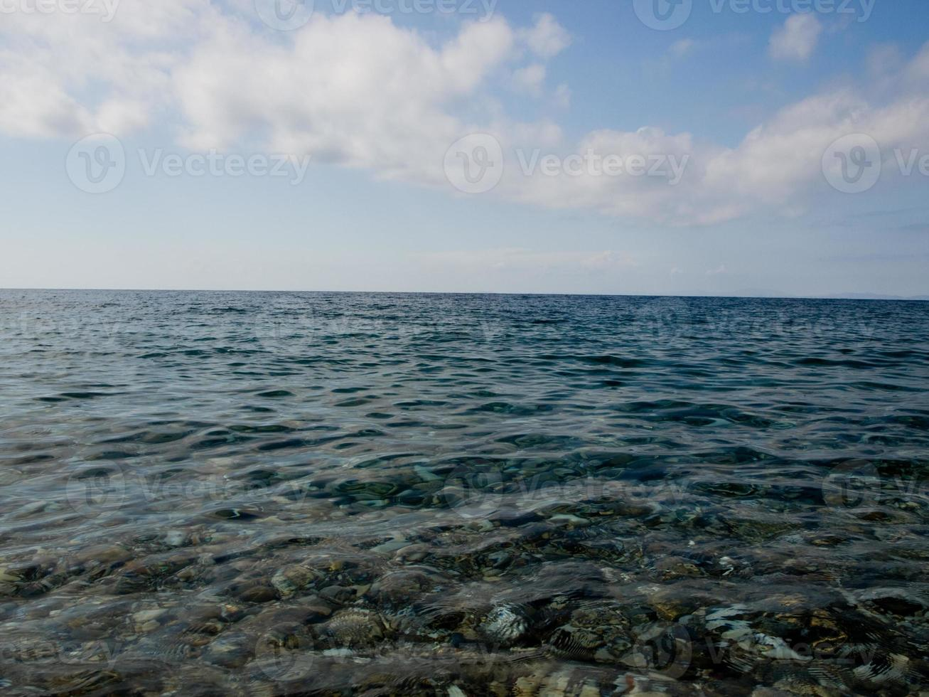texture de la mer photo