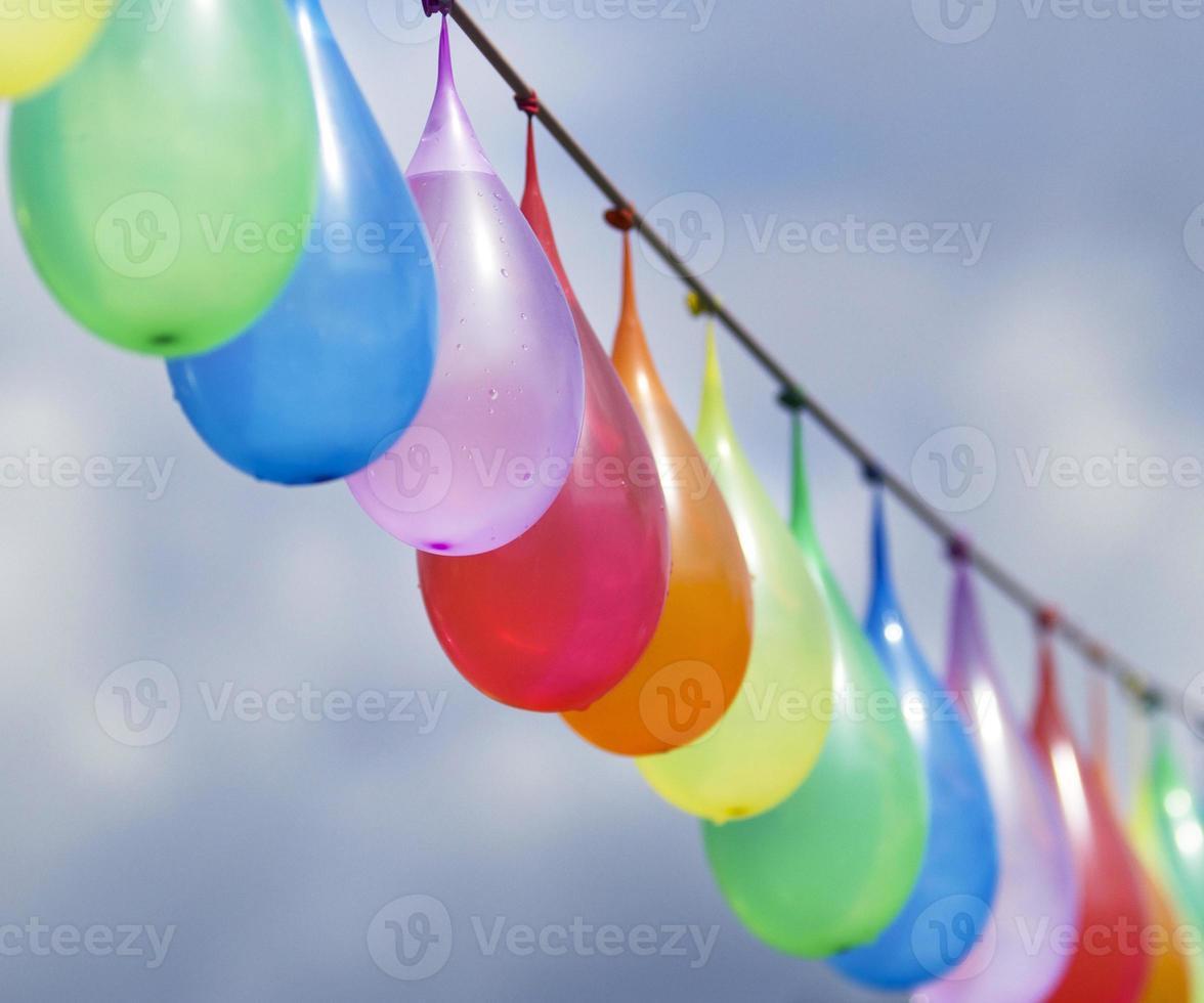 ballons d'eau photo