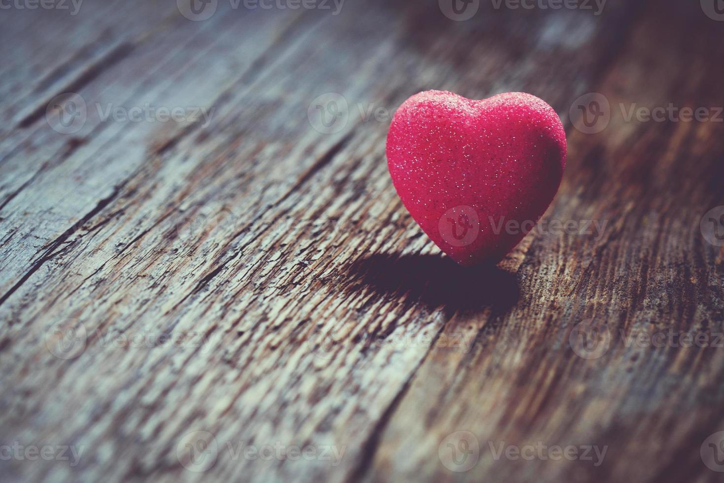 fond de la Saint-Valentin avec des coeurs. photo