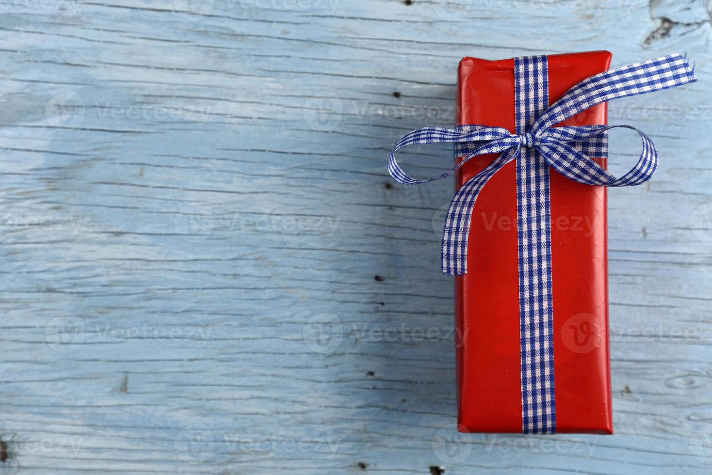 coffret cadeau avec ruban photo