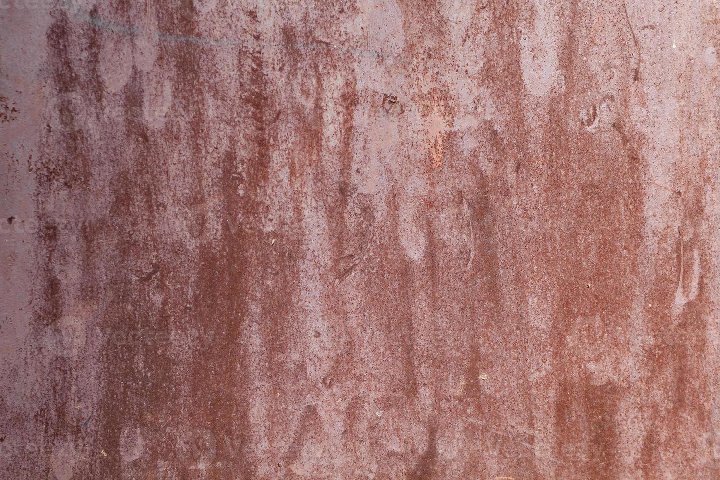 texture de métal peint rouillé photo