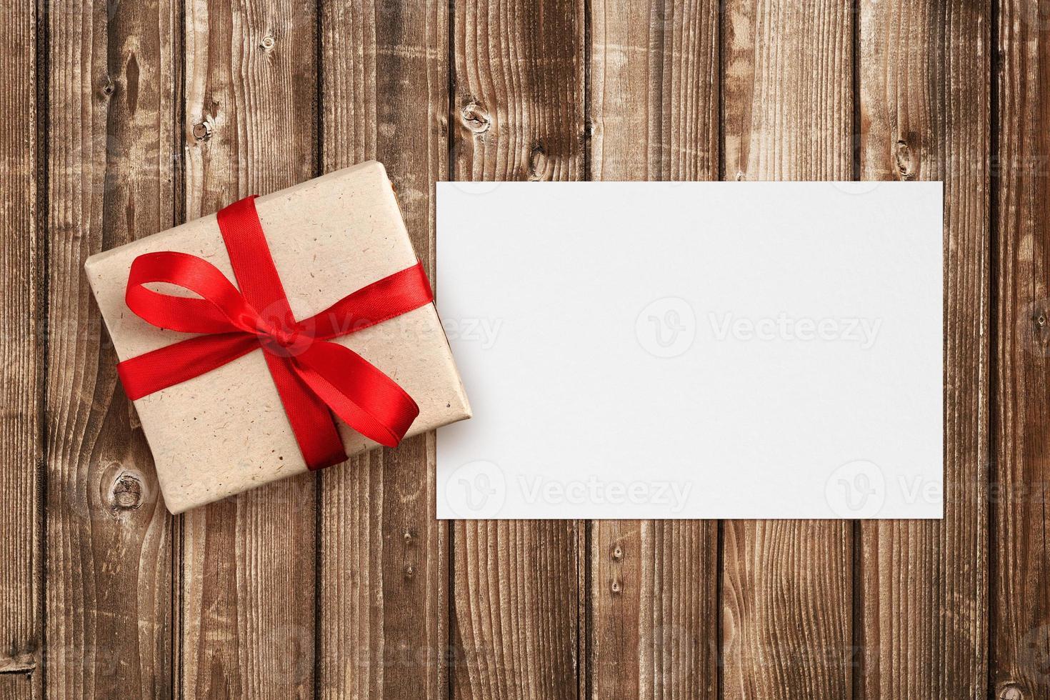 coffret cadeau et carte de voeux photo
