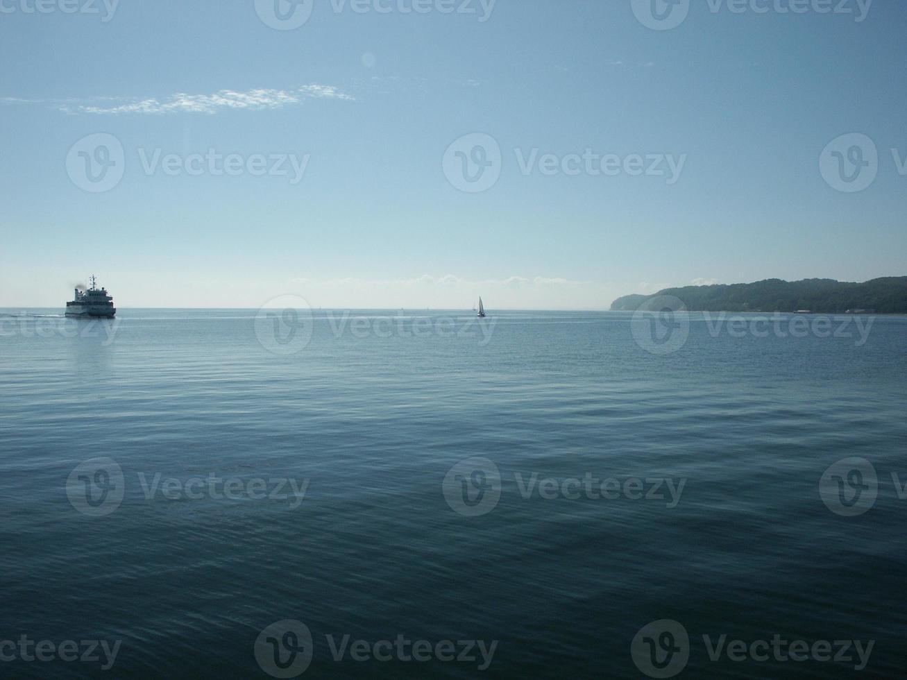 scène de mer calme photo