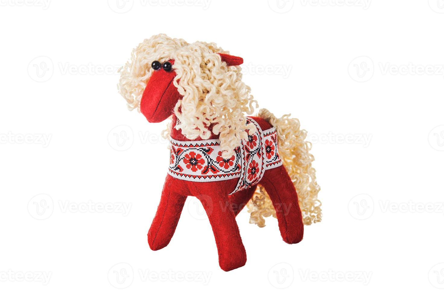 jouets de sapin de Noël en textile photo
