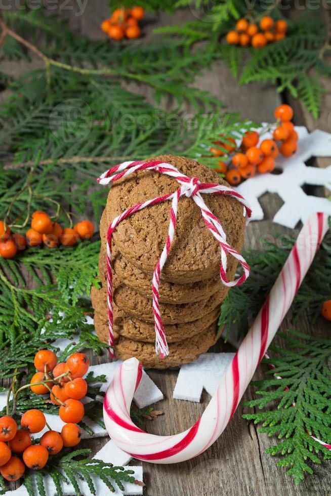 biscuit de Noël pour le père Noël photo