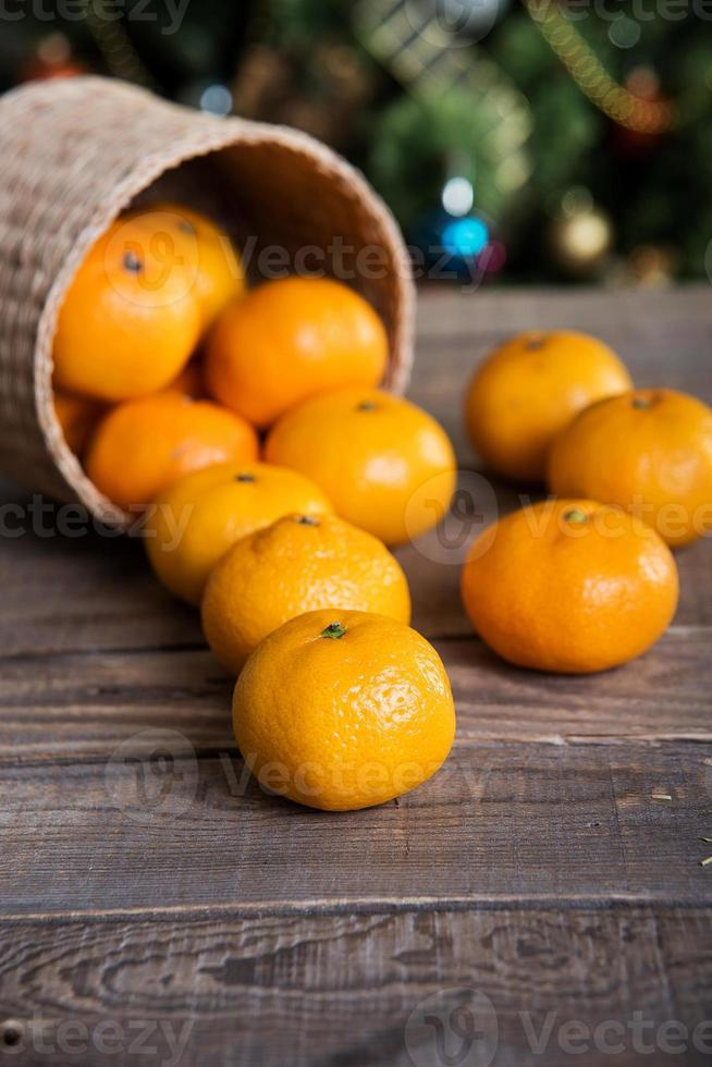mandarines photo