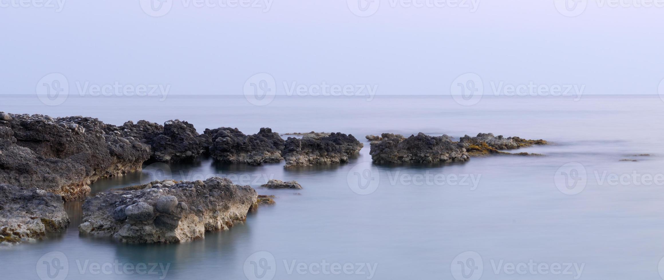 sérénité au bord de la mer photo
