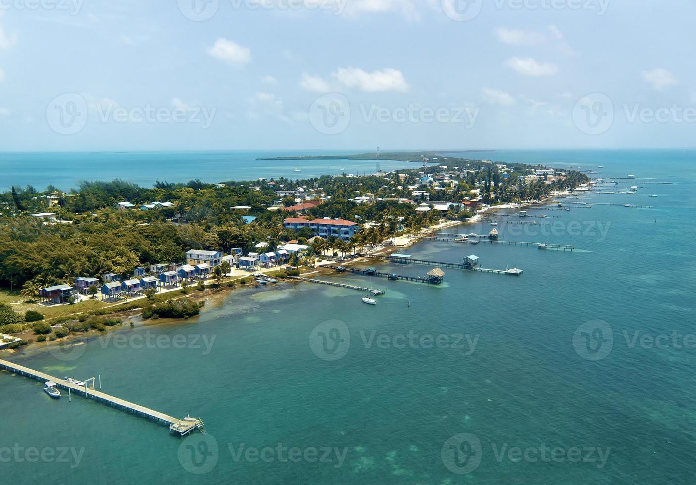 île des caraïbes photo
