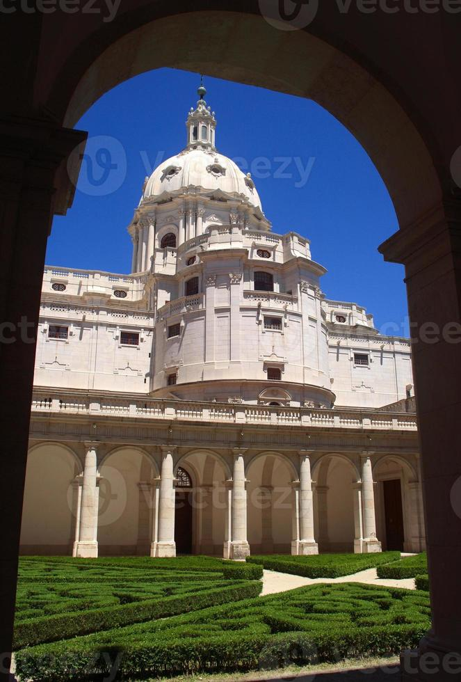couvent de la mafra, portugal. Patrimoine mondial de l'UNESCO. photo