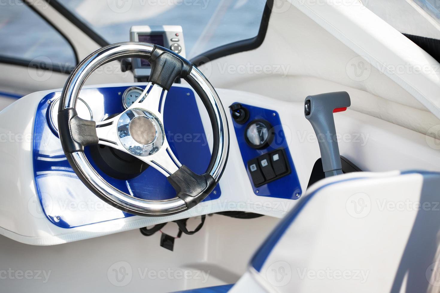 volant pour bateau à moteur photo